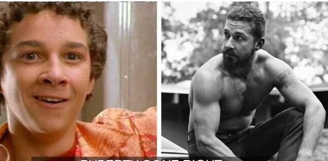 puberty-celebs-Shia-LaBeouf-before-after
