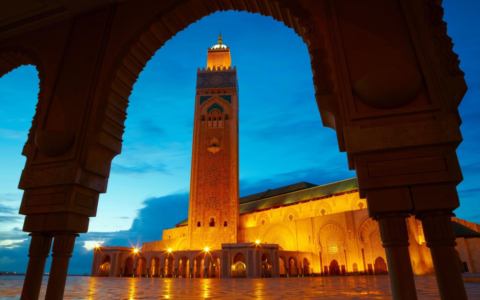 Mon beau maroc destination casablanca welovebuzz for Mosquee hassan 2 architecture