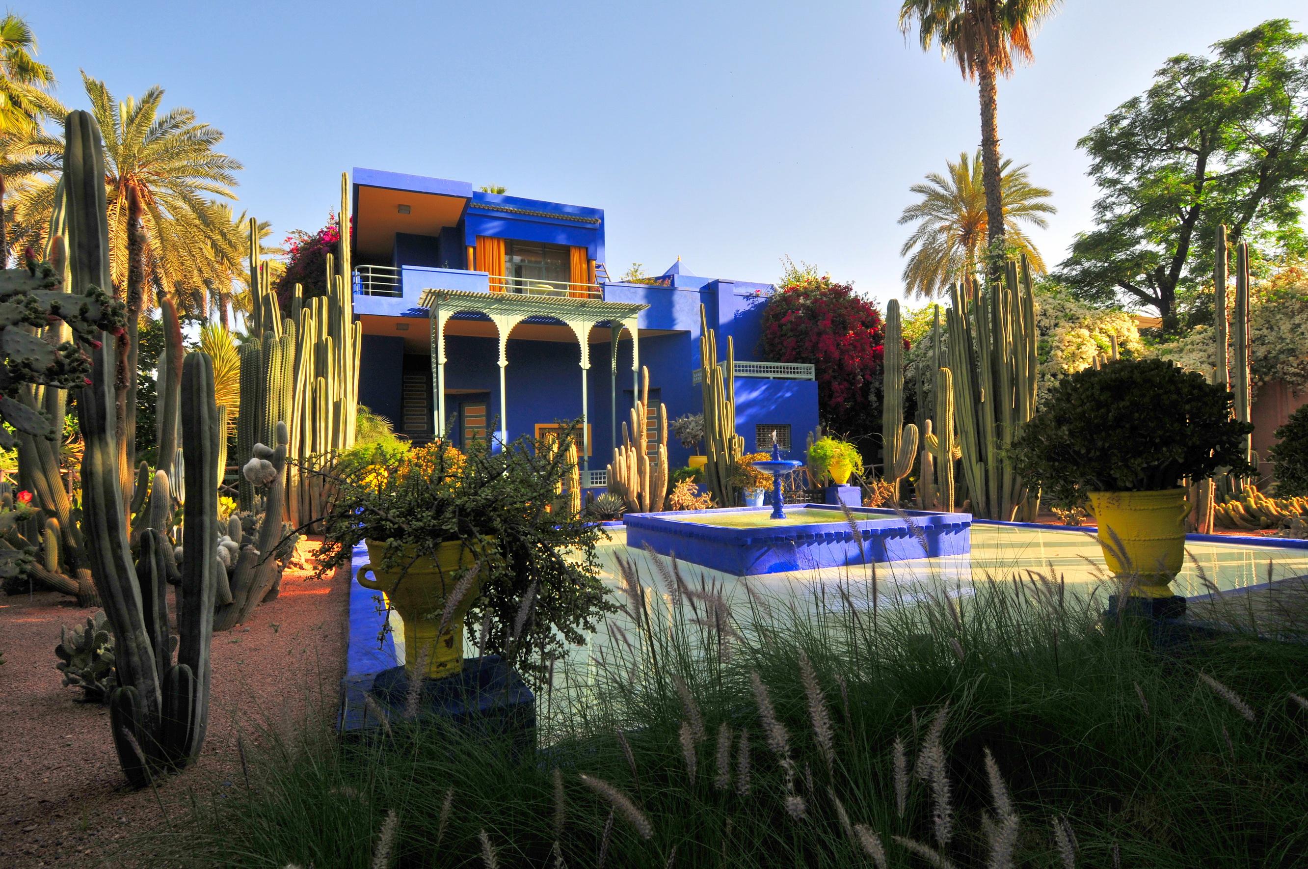 Mon beau maroc marrakech l 39 autre visage de la las vegas for Jardin majorelle