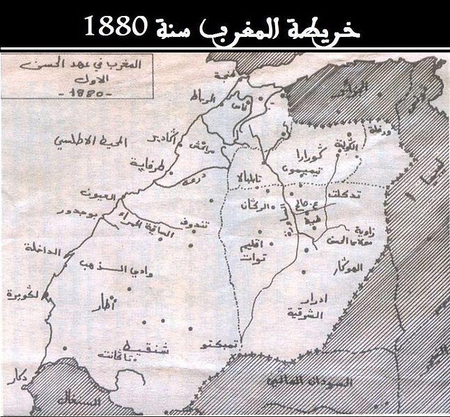 Cartemaroc1880