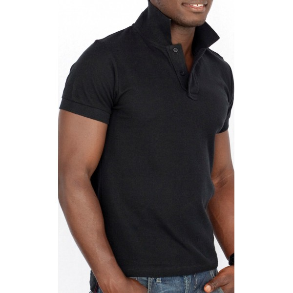 polo-pique-col-releve-skinni-fit-men-