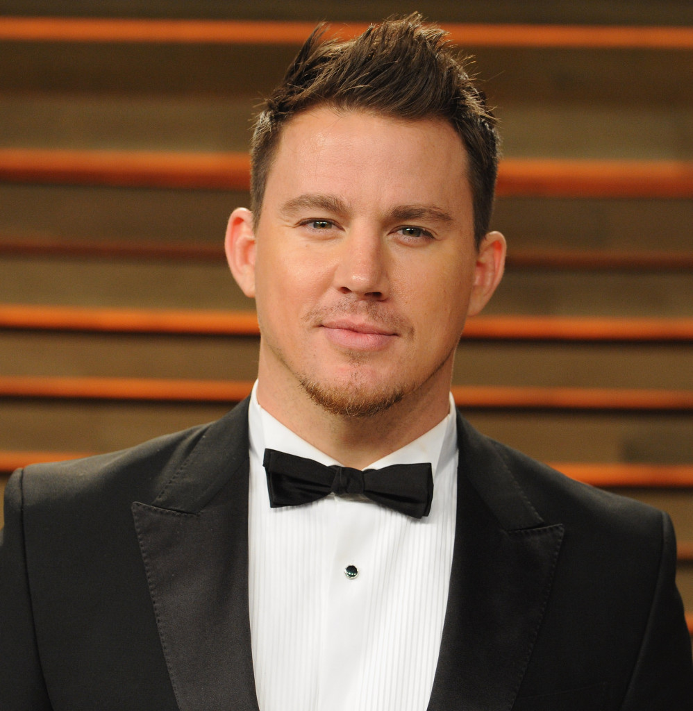 WEST HOLLYWOOD, CA - MARCH 03: Actor Channing Tatum arrives at the 2014 Vanity Fair Oscar Party Hosted By Graydon Carter on March 3, 2014 in West Hollywood, California. (Photo by Jon Kopaloff/FilmMagic)