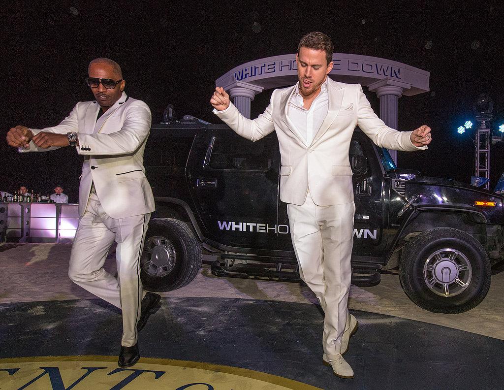 Jamie-Foxx-Channing-Tatum-Dancing-White-House-Down