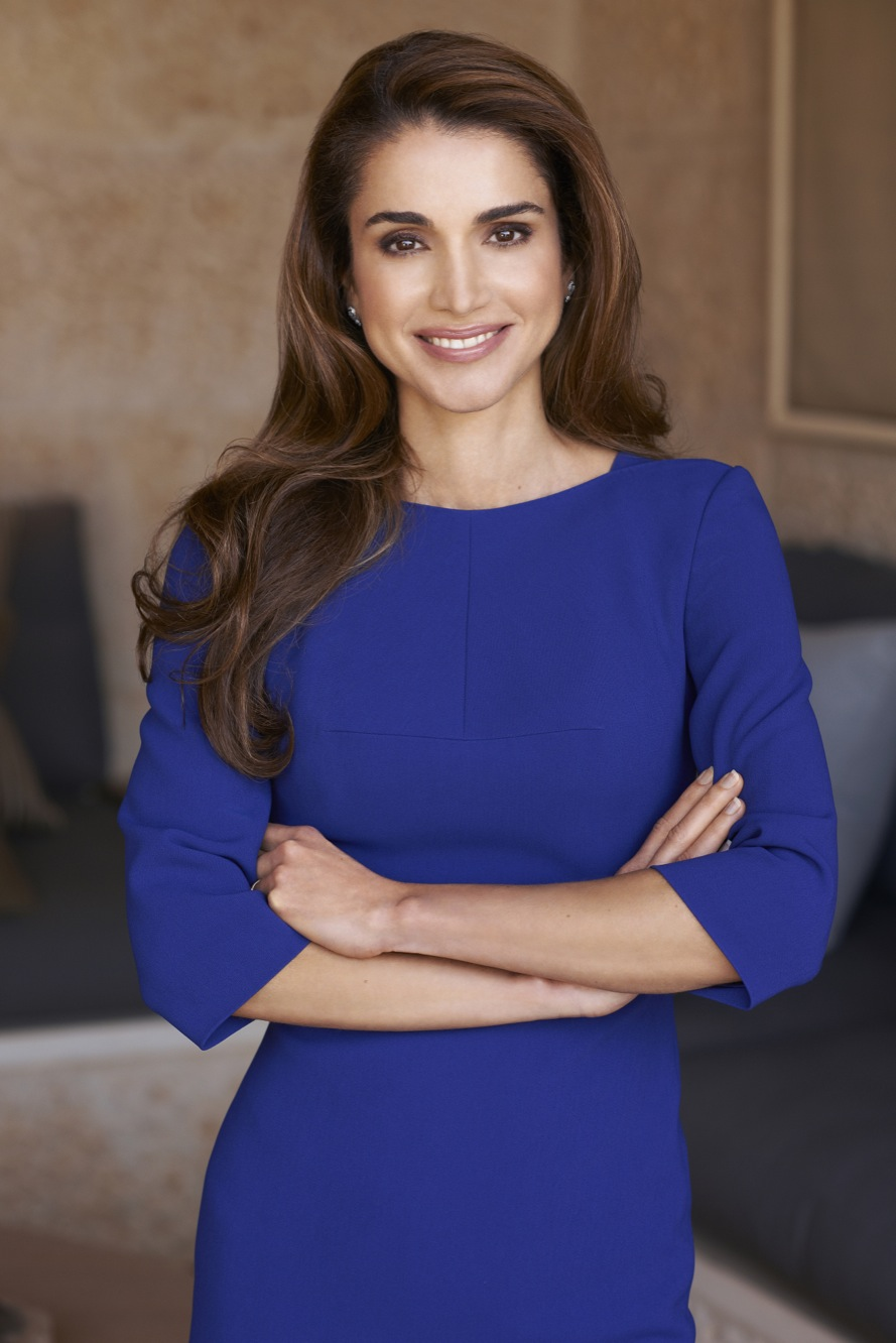 Jordan's Queen Rania Al Abdullah poses in a photograph dated October 22, 2012, released by the Royal Palace as She will celebrate on June 10, 2013 Her wedding's 20th anniversary with King Abdullah II, in Amman, Jordan. Photo by Royal Palaces via Balkis Press/ABACAPRESS.COM | 366507_008