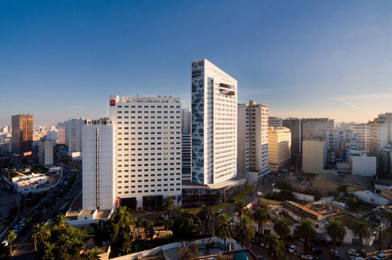Sofitel, City Centre Casablanca, Morocco, Photo by Alan Keohane www.still-images.net