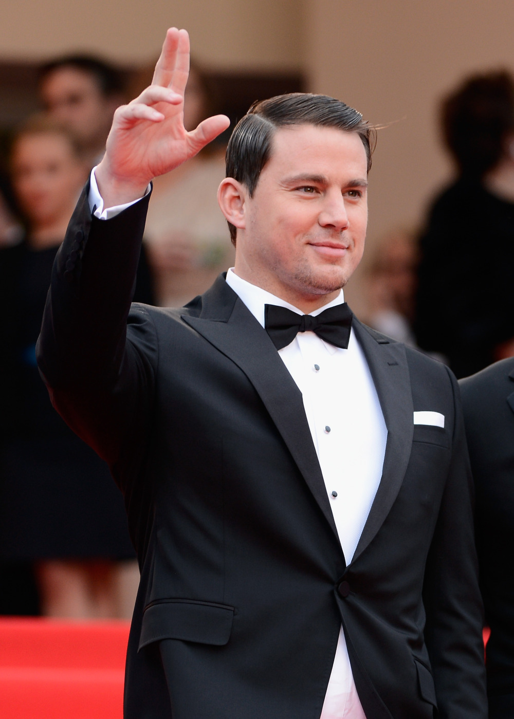 "CANNES, FRANCE - MAY 19: Channing Tatum attends the ""Foxcatcher"" premiere during the 67th Annual Cannes Film Festival on May 19, 2014 in Cannes, France. (Photo by Ian Gavan/Getty Images) ORG XMIT: 488649955 ORIG FILE ID: 492304937"