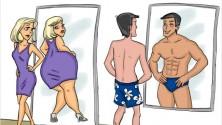 Les femmes et les hommes sont tellement différents, la preuve en 14 illustrations