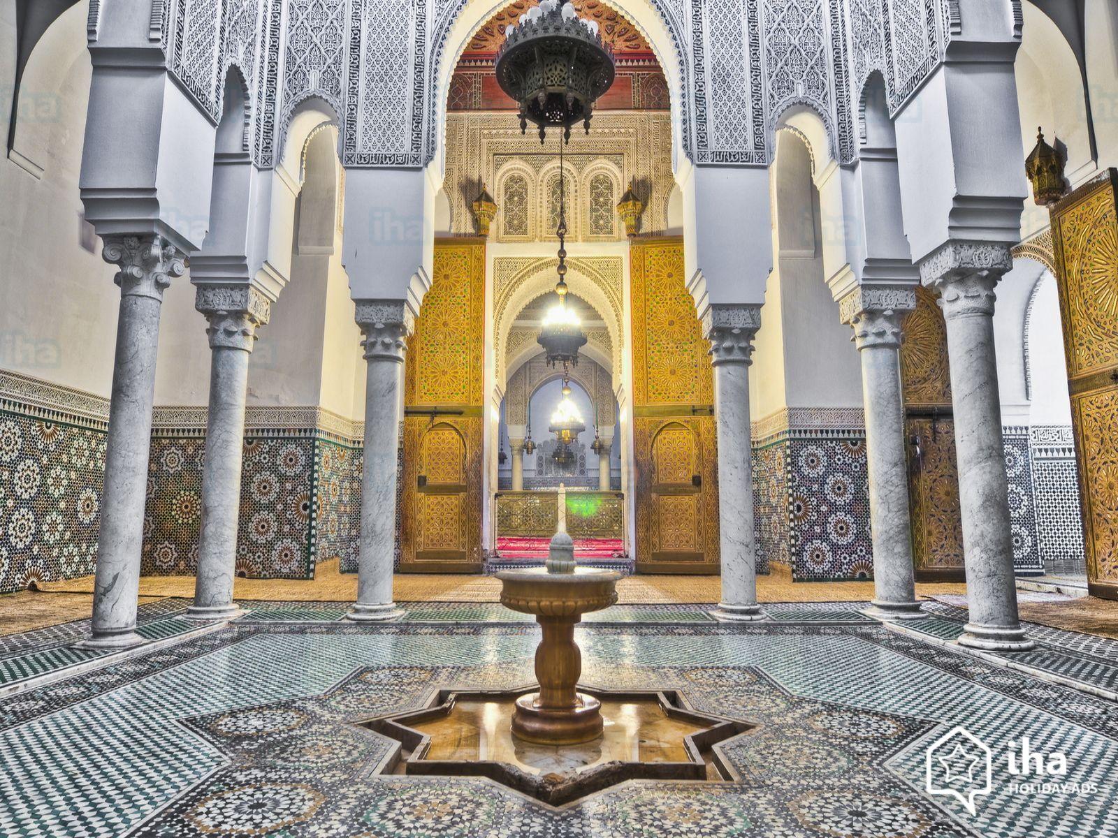 Meknes-Mausolee-de-moulay-ismail-a-meknes