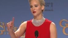 Quand Jennifer Lawrence remet un journaliste à sa place aux Golden Globes