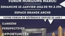 Forum Horizons Maroc 2016 : La liste des entreprises qui seront présentes