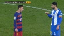 Messi moqué pour sa petite taille par un défenseur adverse