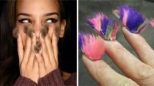La fourrure sur les ongles, la dernière tendance mode