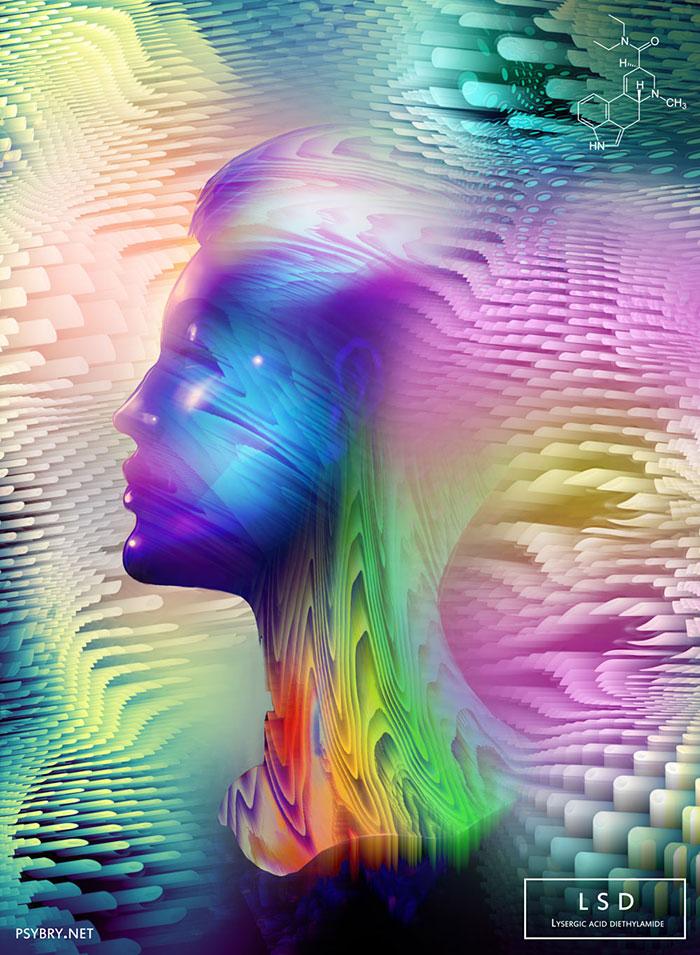 LSD how-different-drugs-affect-you-artist-illustrations-art-brian-pollett-30
