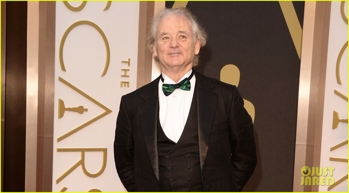 HOLLYWOOD, CA - MARCH 02: Actor Bill Murray attends the Oscars held at Hollywood & Highland Center on March 2, 2014 in Hollywood, California. (Photo by Jason Merritt/Getty Images)
