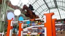 Kebir Ouaddar, marocain vainqueur du Grand Prix d'Hermès d'équitation