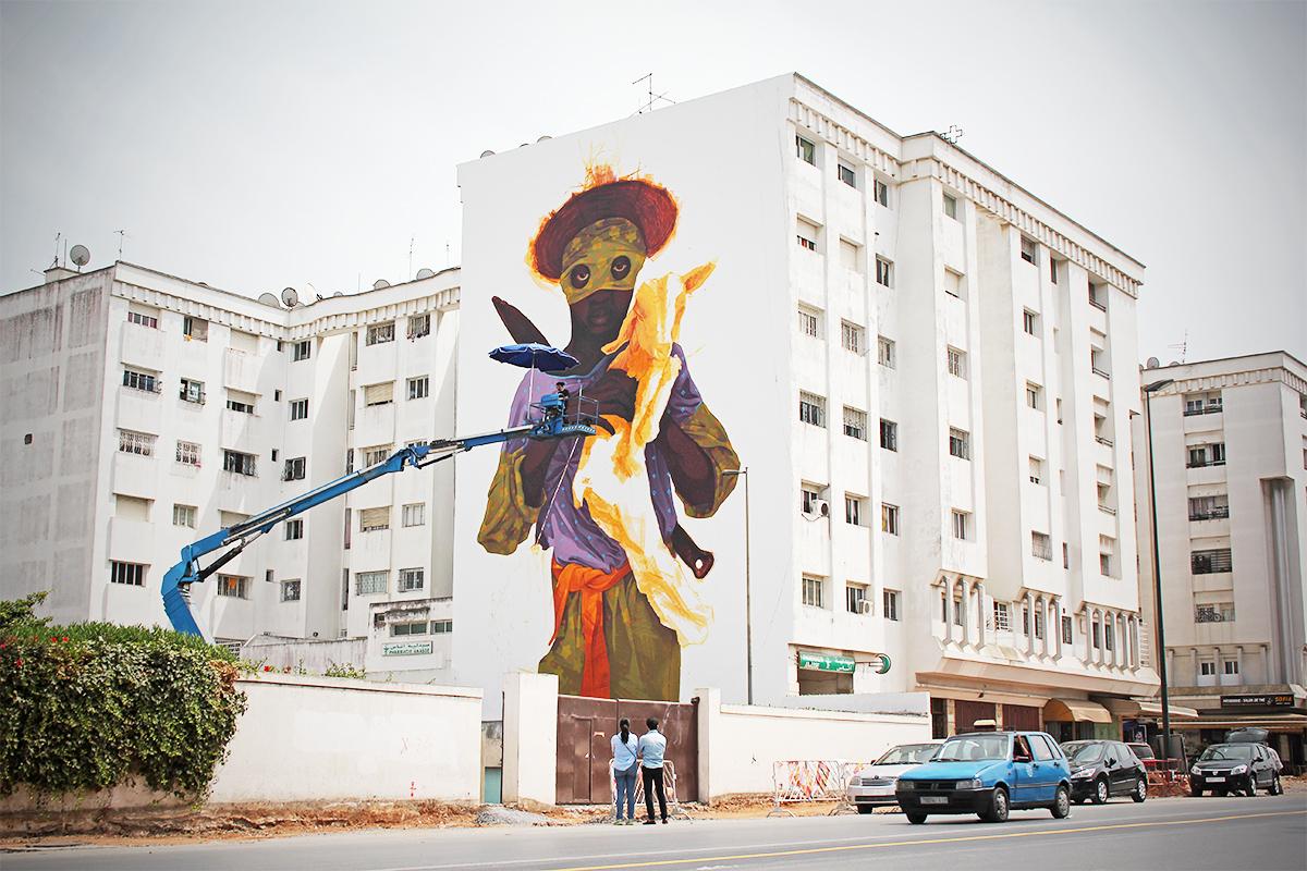 Avenue Hassan II - INTI Chili