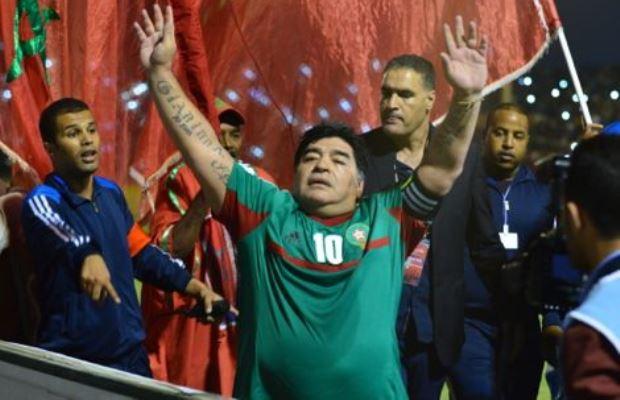 Maradona-Morocco