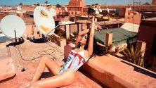 Découvrez en images le shooting Playboy à Marrakech