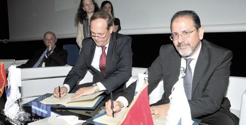Accord-Zouhair-Mohammed-El-Aoufir-ONDA-et-Frank-Brenner-Eurocontrol