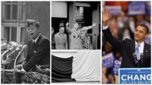Top 6 des discours les plus célèbres de l'histoire