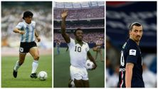 Top 6 des meilleurs buts de l'histoire du football