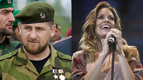 Ramzan_Kadyrov_and_Hilary_Swank