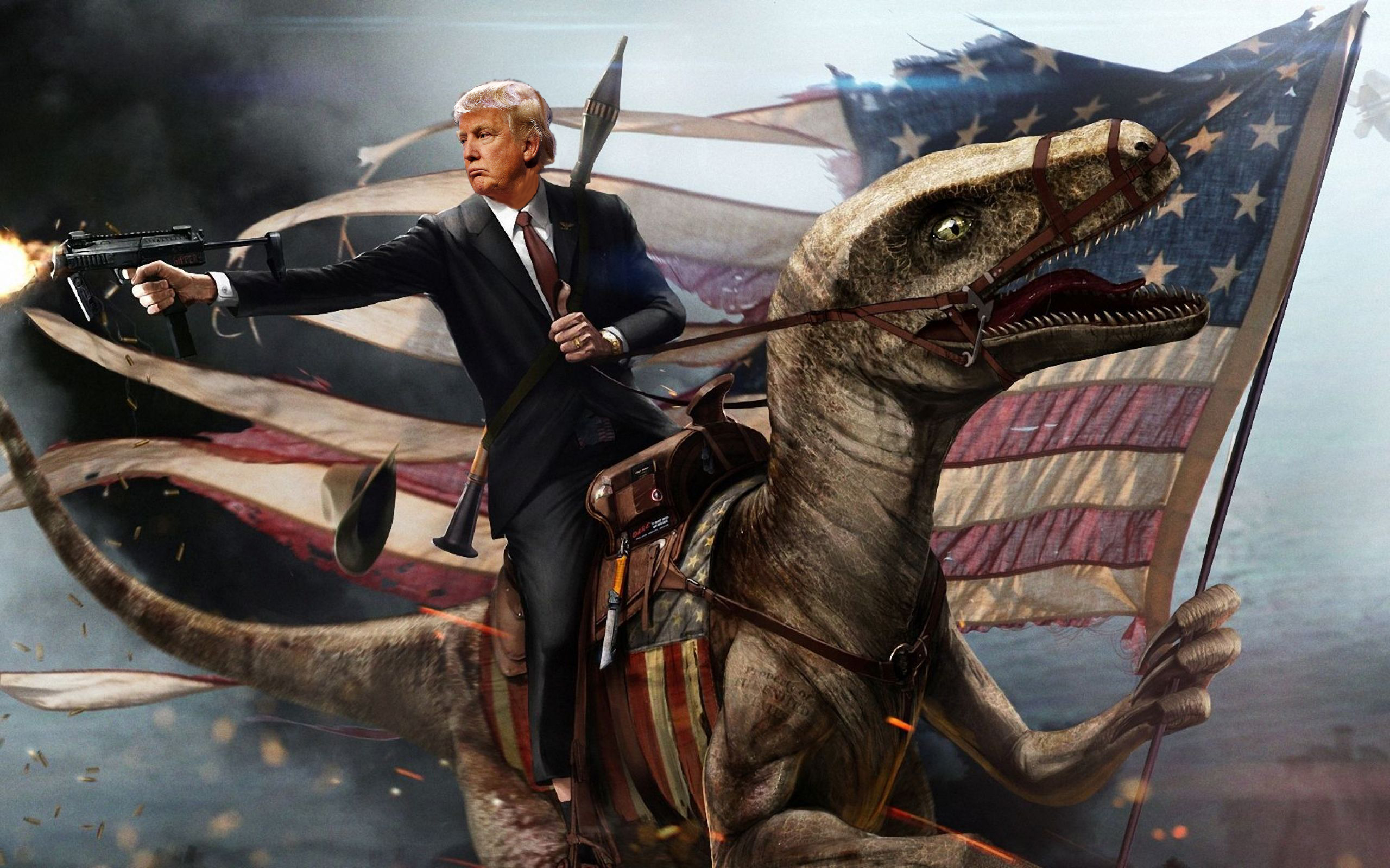 trump-on-dragon
