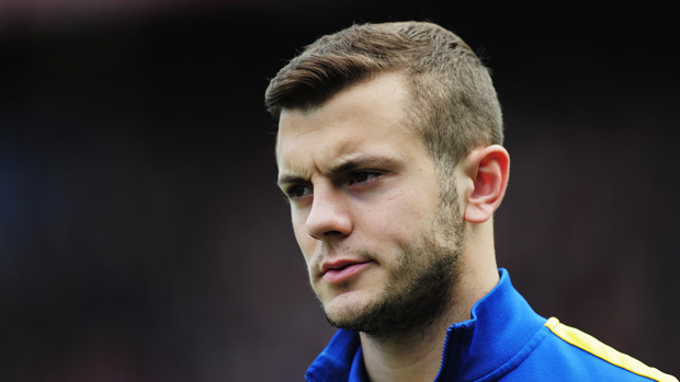 LONDON, ENGLAND - OCTOBER 26: Jack Wilshere of Arsenal looks on prior to the Barclays Premier League match between Crystal Palace and Arsenal at Selhurst Park on October 26, 2013 in London, England.  (Photo by Shaun Botterill/Getty Images)