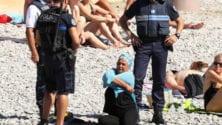 Nice : Interpellée par la police, une femme est contrainte d'enlever son Burkini en public