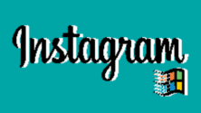 Vintage : Si Instagram existait au temps de Windows 95