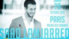 Saad Lamjarred en concert exceptionnel à Paris