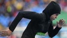 JO : Moment historique pour la première femme saoudienne à participer aux 100m