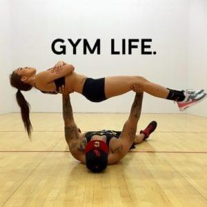 Tu vas au gym
