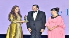 Lalla Salma reçoit le prix 'Tribute Award' au Bal de la Riviera