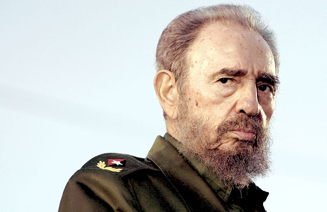 FILE – (NYT6) HOLGUIN, Cuba – Feb. 18, 2008 – CUBA-CASTRO-6 – Cuban leader Fidel Castro on July 26, 2006 in Holguin in what became his last public appearance. Castro stepped down Tuesday, Feb. 19, 2008, as president after a long illness, according to Granma, the official publication of the Cuban Communist Party. His resignation ends one of the longest tenures as one of the most all-powerful communist heads of state in the world. (Jose Goitia/The New York Times) – RETRANSMISSION OF NYT5 WITH ALTERNATE CROP processed by IntelliTune on 19022008 131438 with script MP_RGB to CMYK_2 EPS input folder: CMYK_EPS