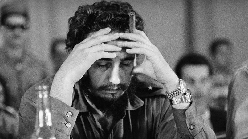 Fidel Castro (né en 1926), révolutionnaire cubain, 1961.