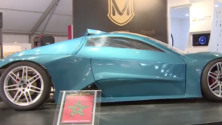 Un jeune Marocain invente une voiture sportive de luxe électrique 100% marocaine