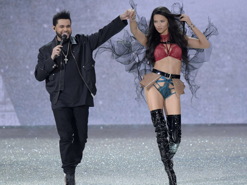 Victoria's Secret Fashion Show, Runway, Grand Palais, Paris, France - 30 Nov 2016