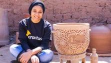 Cette entrepreneuse marocaine confectionne des réfrigérateurs écologiques