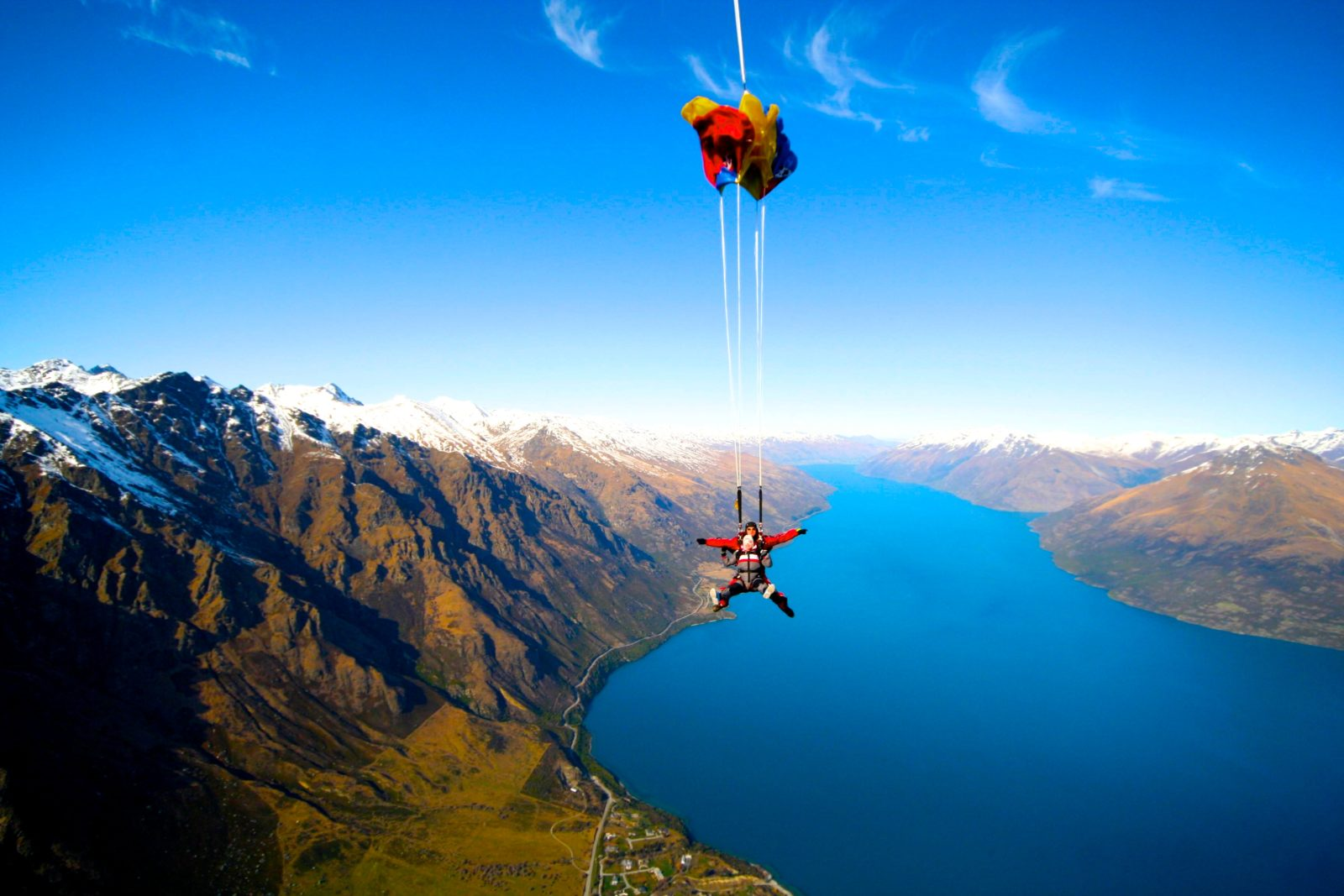 parachutisme nouvelle zelande