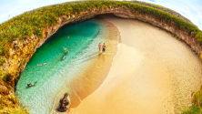 Cette plage secrète va vous donner envie d'acheter un billet aller sans retour