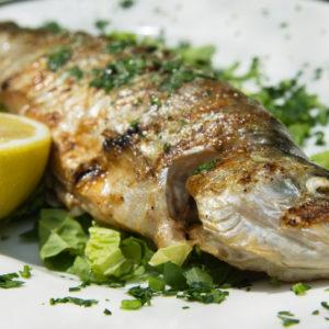 Du poisson grillé