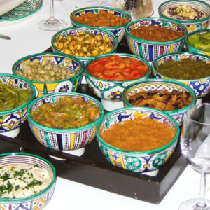 Ses salades variées