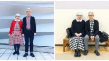 Marié depuis 37 ans, ce 'cute' couple japonais porte chaque jour des tenues assorties