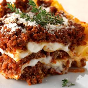 Des Lasagnes Bolognaise