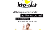 Jeremstar sera au Morocco Mall cet après-midi (et nous aussi)
