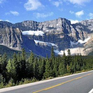 Promenade des Glaciers au Canada