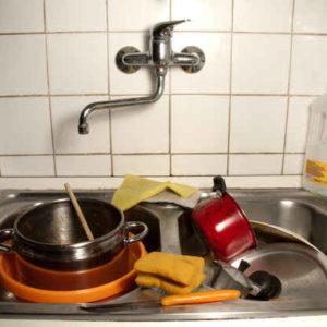 Tu fais la vaisselle