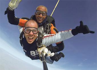 parachutisme rabat