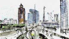 Les oeuvres d'un étudiant en architecture seront bientôt exposées dans les gares du royaume